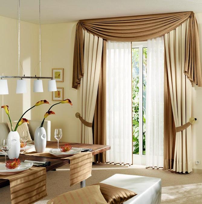 еще оформление штор на окнах фото частных домов барабинске