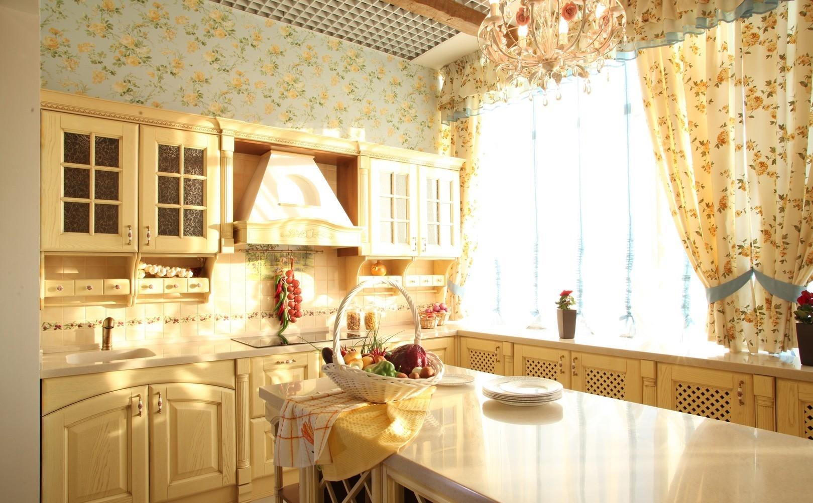 шторы на кухню в стиле прованс картинки была