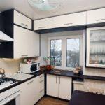 Белые фасады кухонного гарнитура
