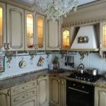 Кухонные шкафчики со встроенной подсветкой