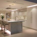 Декоративная подсветка в интерьере кухни