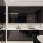 Глянцевые фасады кухонной мебели