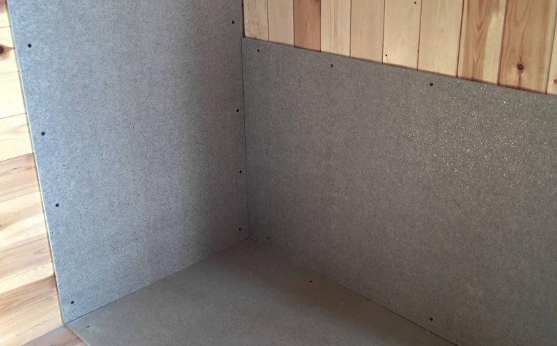 Подготовка основания под керамическую плитку на деревянной стене