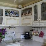 Кухонная мебель в стиле прованс