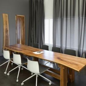 Модный стол для кухни индустриального стиля