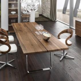 Деревянные спинки кухонных стульев