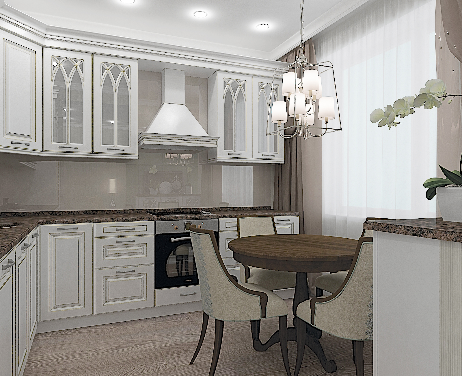 сейчас любительницы белая кухня в стиле неоклассика фото женщинам укрепить