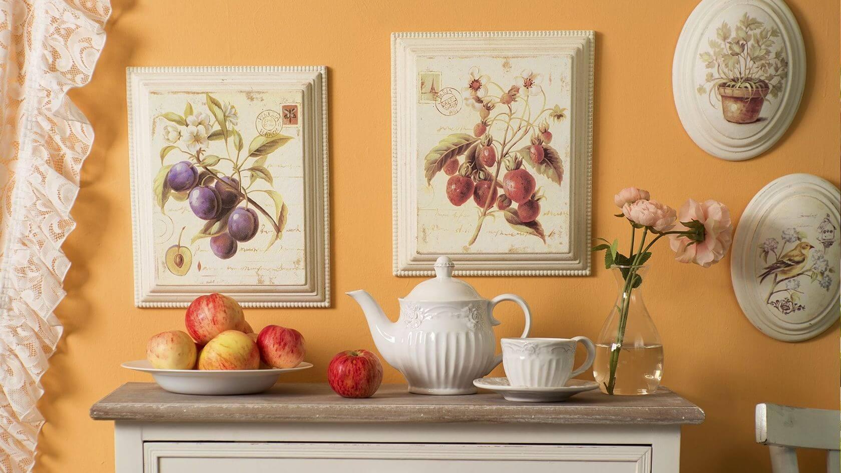 красивые картинки для кухни в рамку