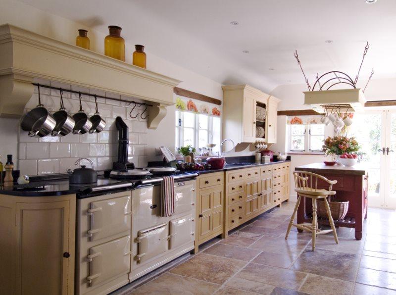 Ретро техника в интерьере современной кухни