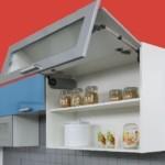Кухонный модуль с подъемным механизмом