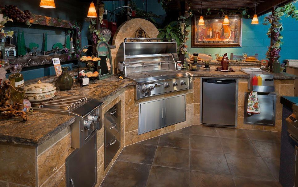 Техническое оснащение летней кухни