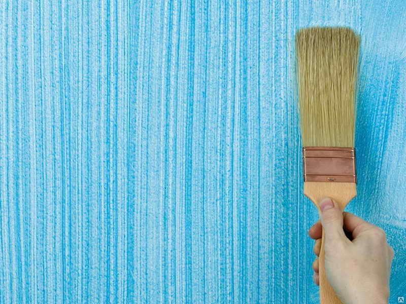 Декоративная окраска стен текстурной краской