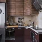 Фото угловой кухни дизайна 2019 года