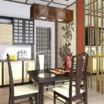 Бамбук в интерьере современной кухни