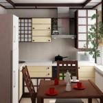 Маленькая кухня с угловым гарнитуром