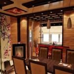 Дизайн небольшой кухни с деревянной мебелью