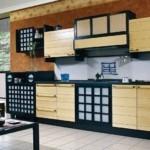 Кухонный гарнитур прямой конфигурации