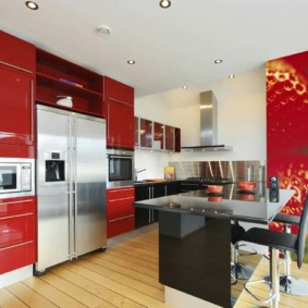 3д фотообои для кухни декор