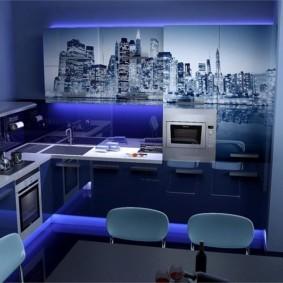3д фотообои для кухни фото дизайн