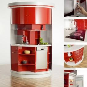 дизайн малогабаритной кухни идеи