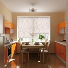 дизайн малогабаритной кухни интерьер фото