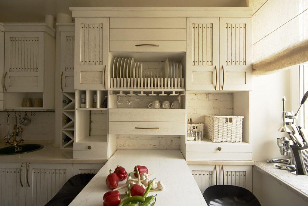 дизайн малогабаритной кухни прованс