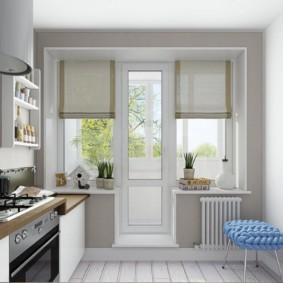 дизайн малогабаритной кухни декор идеи