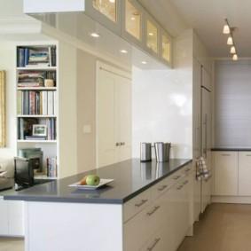 дизайн малогабаритной кухни фото оформление