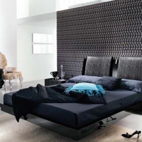 спальня в стиле модерн мебель