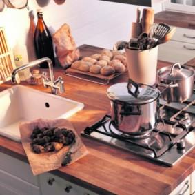 дизайн малогабаритной кухни варианты идеи