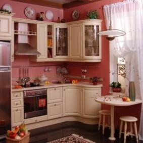 дизайн малогабаритной кухни виды фото