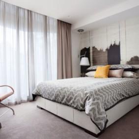 шторы для спальни 2019 фото