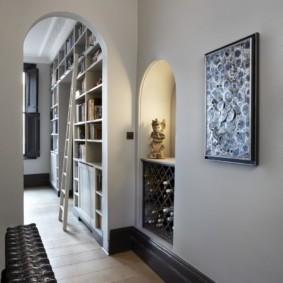 арка в коридоре дизайн