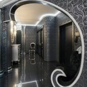 арка в коридоре фото декор