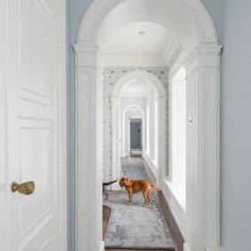 арка в коридоре идеи фото