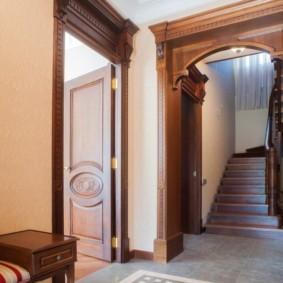 арка в коридоре идеи интерьера