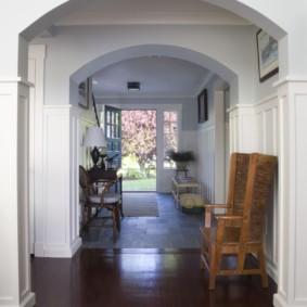 арка в коридоре идеи оформление