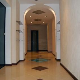 арка в коридоре идеи оформления