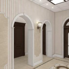 арка в коридоре идеи вариантов