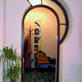 арка в коридоре идеи варианты