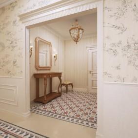 арка в коридоре интерьер идеи