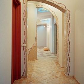 арка в коридоре варианты