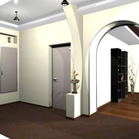 арка в коридоре варианты идеи