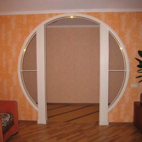 арка в коридоре виды