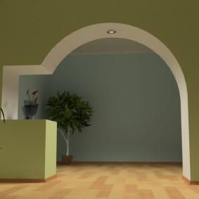 арка в коридоре виды фото