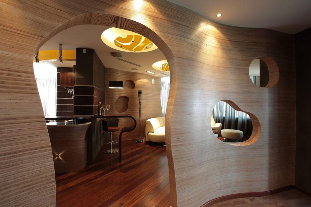 арка в коридоре идеи