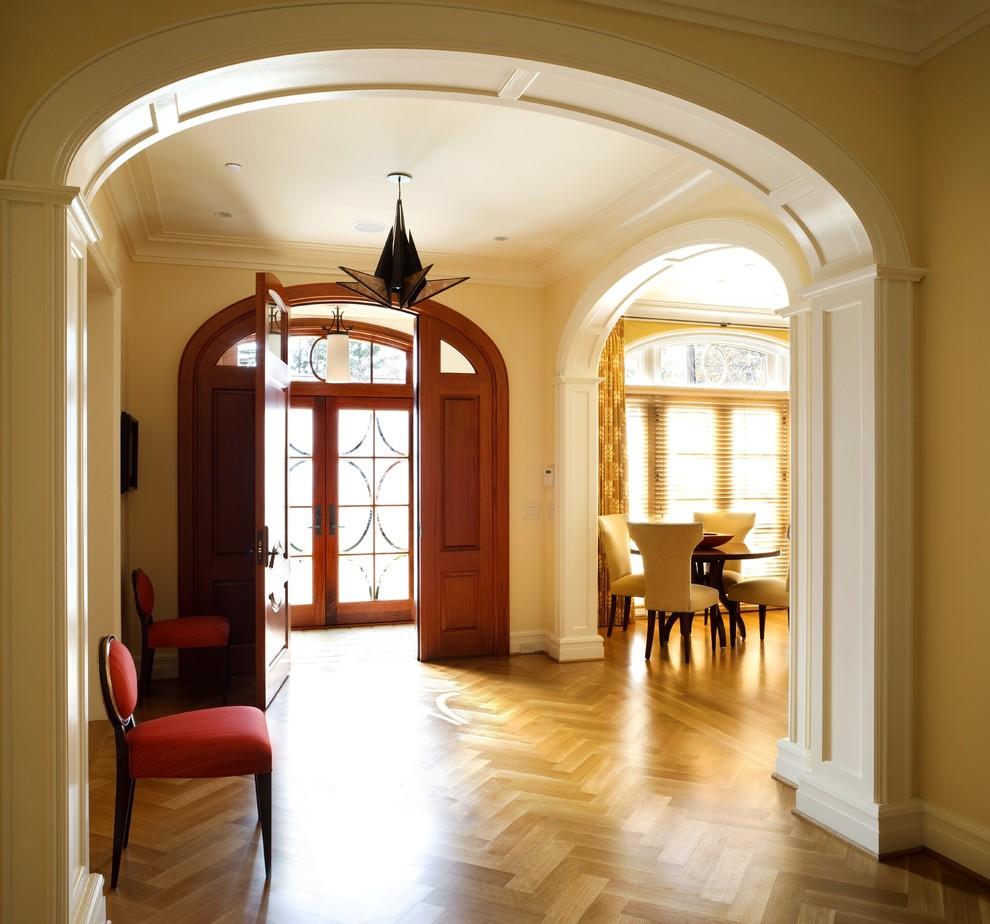 арки в прихожей декор фото идеи