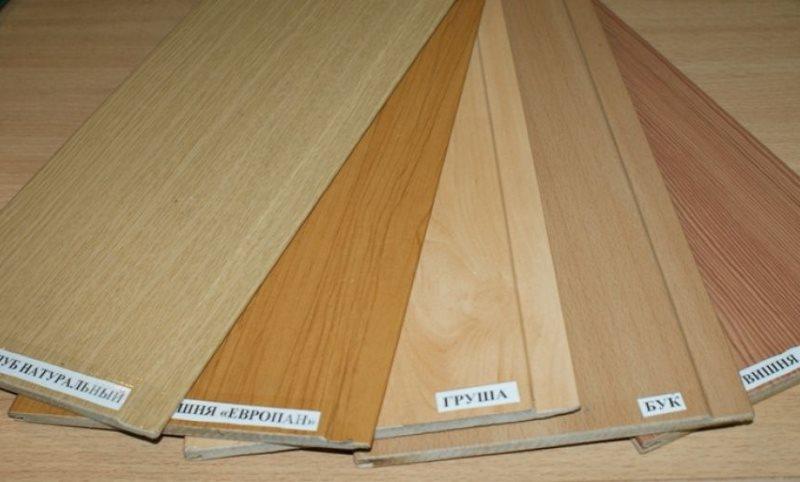 Узкие МДФ-панели под разные породы дерева