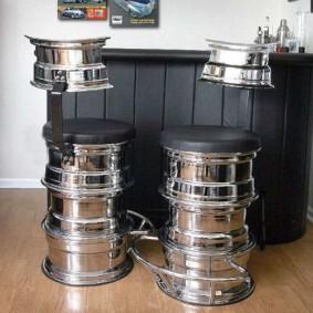 барные стулья для кухни необычные