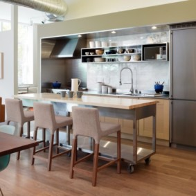 барные стулья для кухни идеи фото